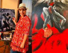 Fatna Chanane expose ses oeuvres en Espagne