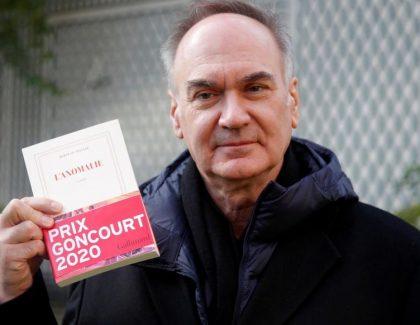 Hervé Le Tellier, lauréat du Goncourt 2020