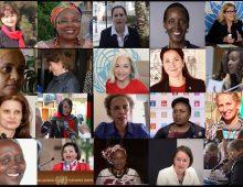 20 femmes dirigeantes nommées en 2020 à l'ONU