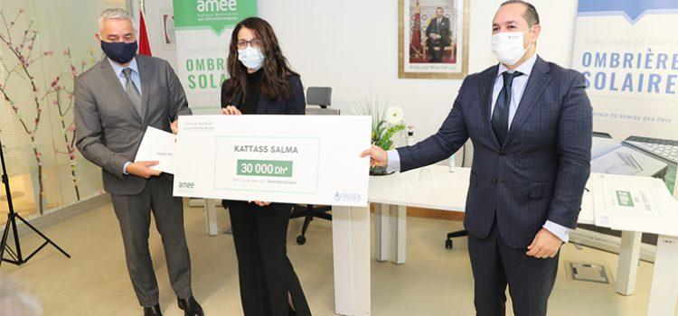 Ombrières solaires : Salma Kattas remporte le concours