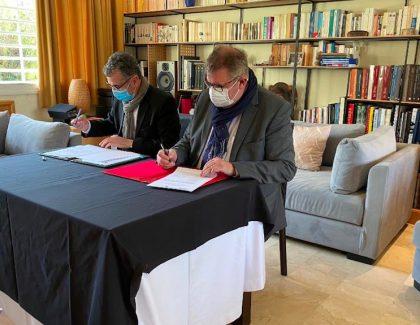 Signature d'un partenariatentre l'UIR et l'IHECS