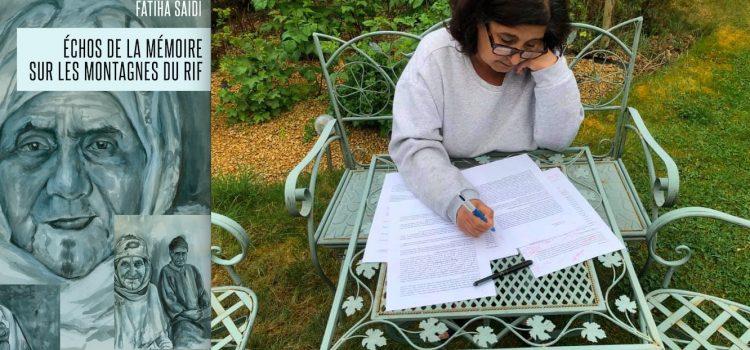 """Fatiha Saidipublie les""""Échos de la mémoire sur les montagnes du Rif"""""""