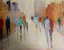 """Hakima Jerrari :""""le monde de l'art est une aventure magique"""""""