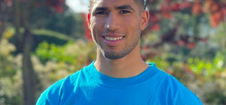 Achraf Hakimi champion des droits de l'enfant au Maroc