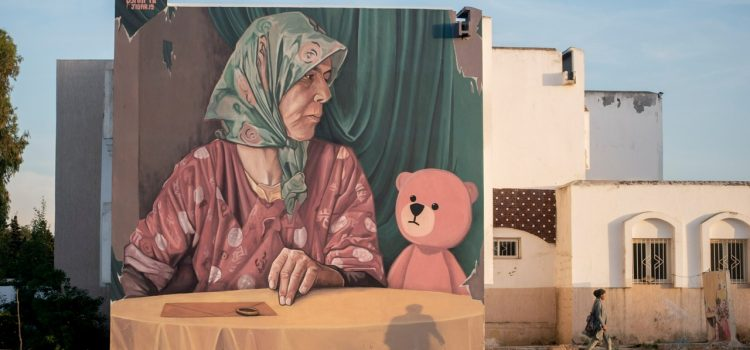 Jidar-Rabat Street Art festival : Acte VI